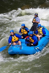 Enjoy a whitewater rafting vacation in the Poconos.