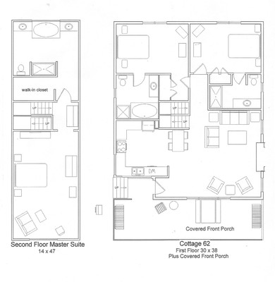 Hemlocks Unit 62 Floorplan