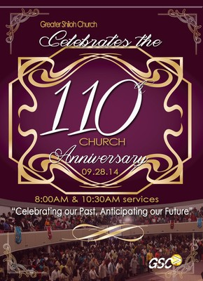 Events Greater Shiloh Church