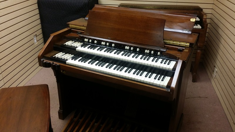 WAREHOUSE SPECIAL NOW AVAILABLE! Affordable & In Beautiful Condition 1960's Vintage Hammond A-100 Organ & Leslie Speaker Package! Plays & Sounds Great Will Sell Fast! - Now Available!-copy