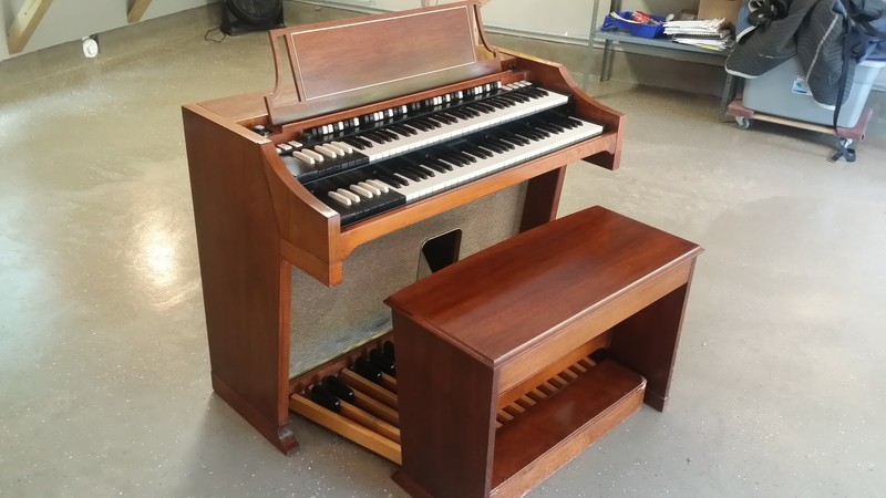 AFFORDABLE PRISTINE LIKE NEW!  A Beautiful 1964 Vintage Hammond C3 Organ & Leslie Package! Plays & Sounds Great!   GORGEOUS! A Great Value & Buy! Purchased By COGIC Now Sold 4/2/14-copy
