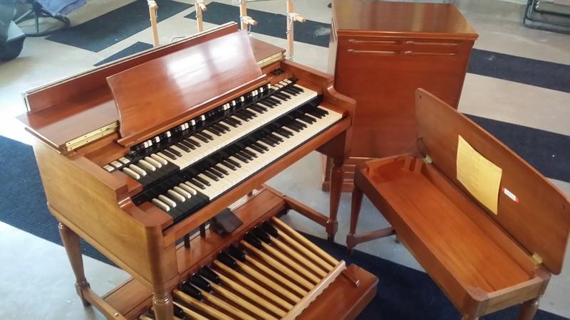 1964 Vintage Hammond B3 Organ & Original 122 Leslie Speaker! In Pristine Condition Like Brand New! - Georgia Bound  Now Sold!-copy