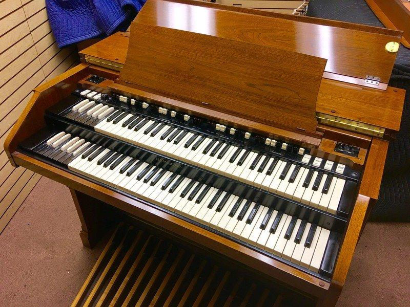 NEW ARRIVAL-PRISTINE PERFECT! VINTAGE HAMMOND A-105 ORGAN - Extremely Well Maintained, Mint Condition, Will Sell Fast! A Great Value! Plays & Sounds GREAT! - Now Sold!