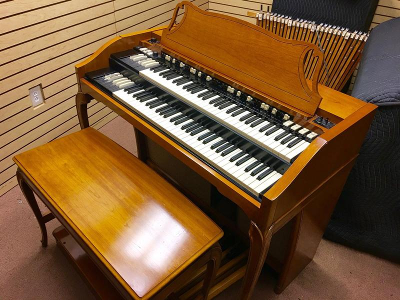NEW ARRIVAL-A GORGEOUS VINTAGE HAMMOND A-102 ORGAN - Affordable! Will Sell Fast! A Great Value! Plays, Sounds Perfect! - Now Sold!