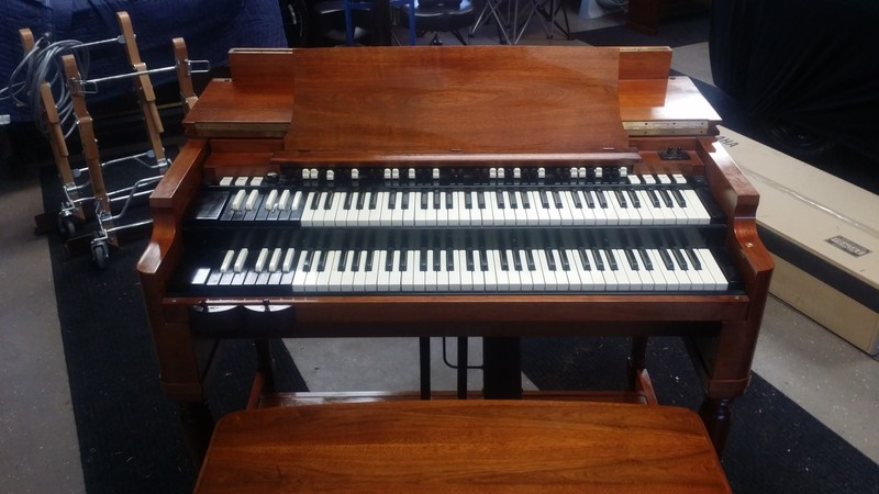 WAREHOUSE SPECIAL NOW SOLD! Affordable & In Beautiful Condition 1960's Vintage Hammond A-100 Organ & Leslie Speaker Package! Plays & Sounds Great Will Sell Fast! - Now Sold!-copy