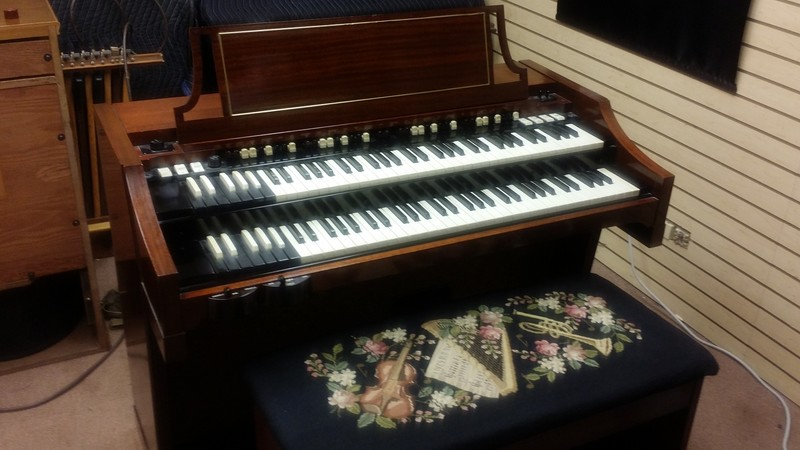 NEW ARRIVAL! Beautiful 1960's Hammond A-100 Organ!  Can customized and add Leslie Speaker! Will Sell Fast! Don't Miss Out On This One! - Sold!