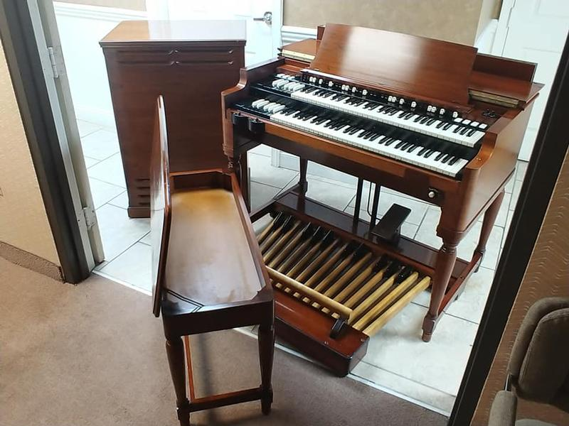 NEW ARRIVAL-Vintage Mint Hammond B3 Organ-Original Bench & Pedals & Leslie Speaker & The Holy Grail, Plays & Sounds Great, Will Sell Fast-Now Available!