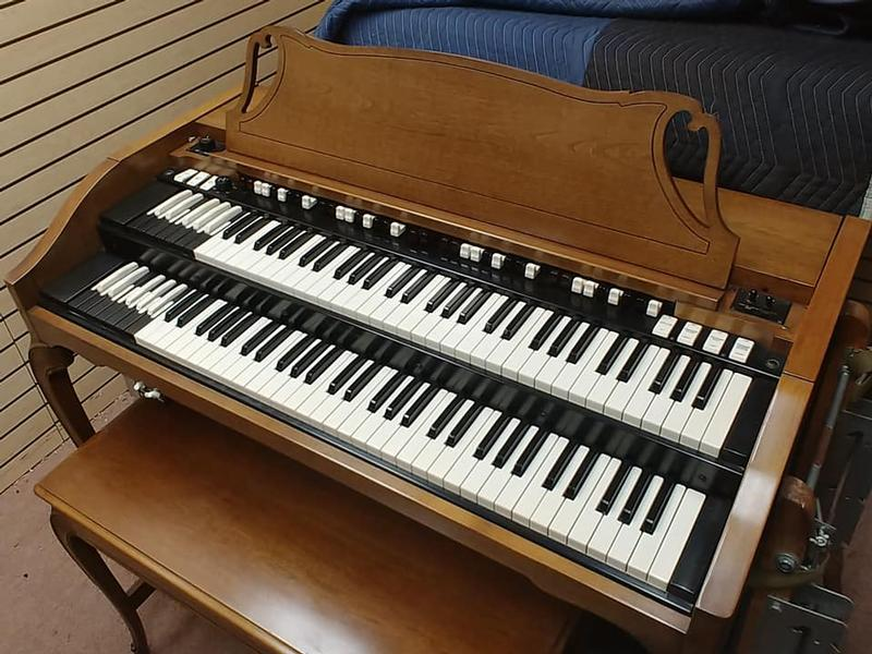 New Arrival-Now In Our Showroom-A Beautiful Vintage Hammond A-102 & 860 Leslie Speaker.  Gorgeous Organ Plays & Sounds Great!  Afforable & Will Sell Fast! -Available!