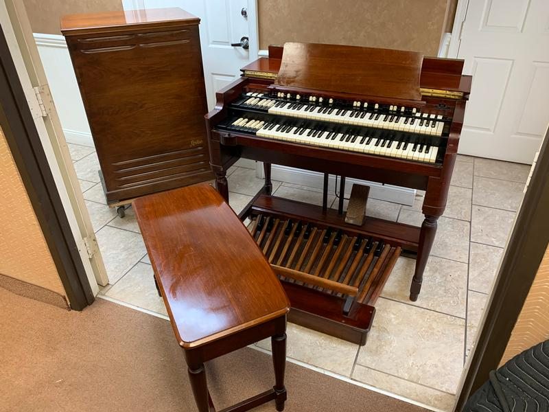NEW ARRIVAL-Vintage 70's Hammond B3 Organ & Vintage 122 Leslie Speaker- In Excellent Condition, Plays & Sounds Great --Now Sold!-copy