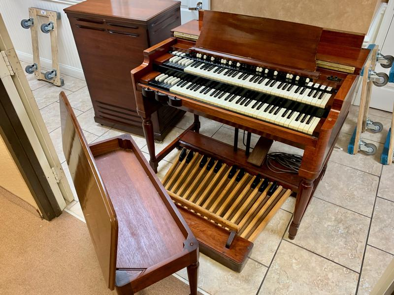 New Arrival! Mint Ebony Hammond B3 Organ & Matching 122 Leslie Speaker-Plays & Sounds Great! Will Sell Fast! Don't Miss Out! Now Available!-copy