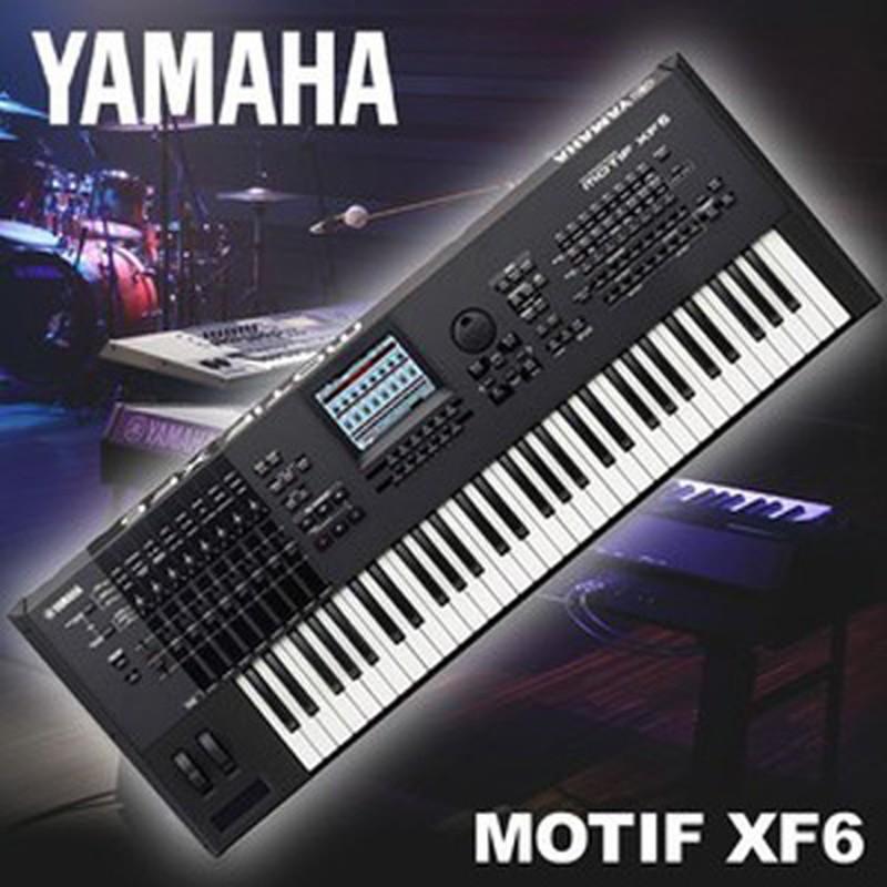 yamaha synthesizers workstations motif xf6 hammond