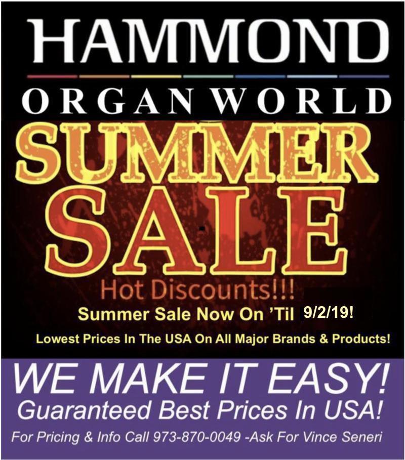 Hammond Organ World: Home