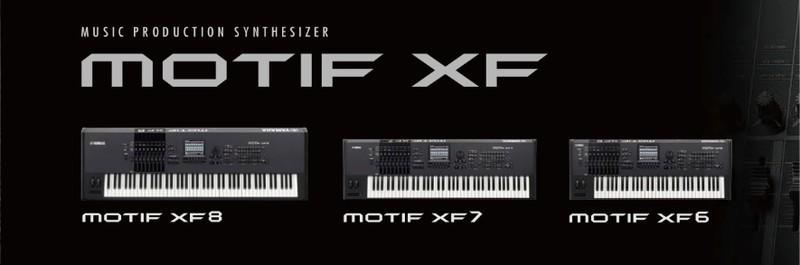 Yamaha Synthesizers/Workstations - Motif XF6 - Hammond Organ