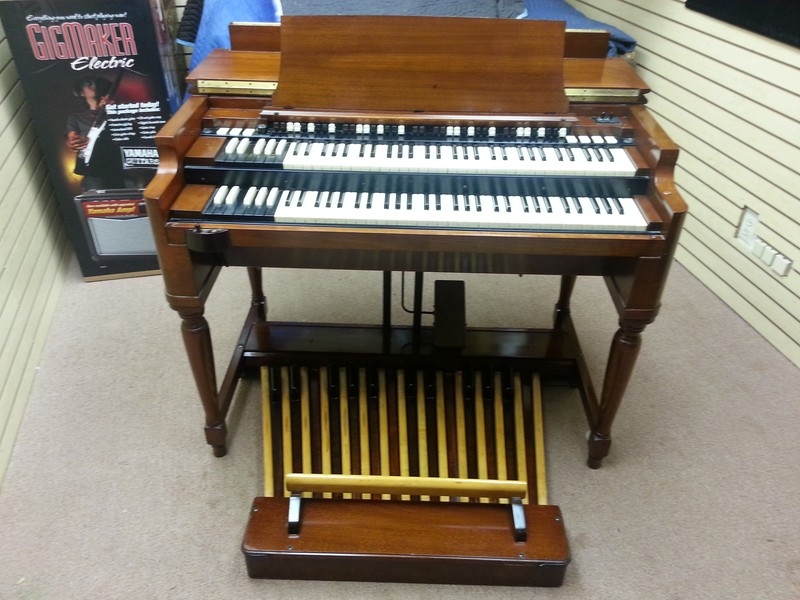 Smoking Mint Condition Classic Vintage Hammond B3 Organ & 21H Leslie Speaker!