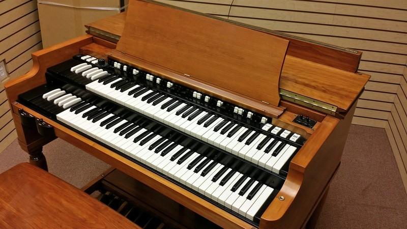 NEW ARRIVAL PRISITNE-A  Perfect Cherrywood 1964 Vintage Hammond B3 Organ With Original Matching 122 Leslie Speaker are in