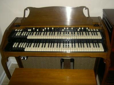 Vintage Hammond A-103 Organ & 122A Leslie Speaker