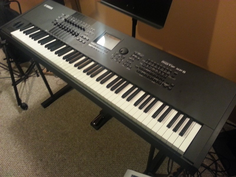 Mint Pre-Owned Yamaha MOTIF-XF8