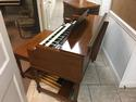 NEW ARRIVAL- NOW IN OUR SHOWROOM! CHERRY WOOD VINTAGE HAMMOND B3 ORGAN & Original Matching Leslie - In Beautiful Condition- Will Sell Fast! A Great Value! Plays, Sounds Perfect! - Available!