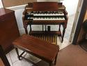 NEW ARRIVAL- NOW IN OUR SHOWROOM! A GORGEOUS VINTAGE HAMMOND B3 ORGAN & Original Matching Leslie Speaker - Will Sell Fast! A Great Value! Plays, Sounds Perfect! - Available!-copy
