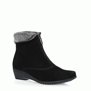 Women's Evitta Black Suede Boot