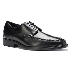 Men's President Black Leather