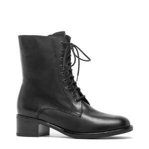 Women's Palmina Black Leather Boot