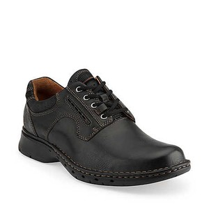 Men's Unravel Black Leather