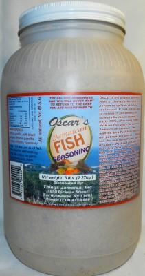 Fish Seasoning - 5LB