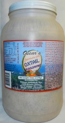 Oxtail Seasoning - 5LB
