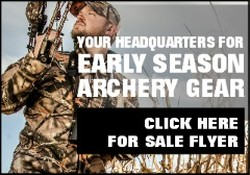 archery flyer side banner