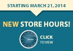 march new hours side banner