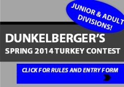 turkey contest side banner