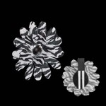 Mini Daisy Blossom Clip- Animal Print