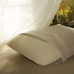 MOLDED DUNLAP NATURAL LATEX PILLOWS Standard, Queen, King Size