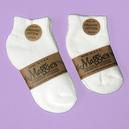 MAGGIES INFANT, TODDLER CREW SOCKS Organic Cotton MADE IN AMERICA