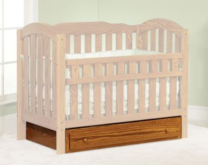 KIDS COMFORT CRIB BOTTOM DRAWER OPTION
