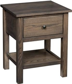 JR WOODWORKING STANDARD NIGHTSTAND MISSION