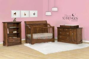 AMISH NURSERY SET STD WOOD TANESSAH STYLE