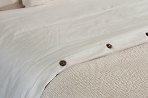 DUVET COVER SATEEN GOTS ORGANIC COTTON