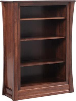 JR WOODWORKING BOOKCASE SOLID WOOD CARLISLE