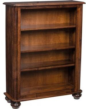JR WOODWORKING BOOKCASE STANDARD WOOD HAMPTON