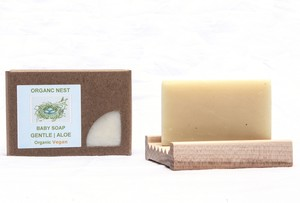 GENTLE SOAP BOY SET Organic, Gluten Free, Vegan, NO GMO'S Simply Wood Soap Deck