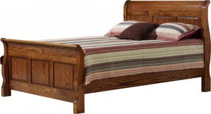 SLEIGH PANEL BED QUEEN