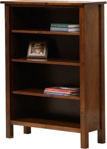 Jr Woodworking Mission Solid Wood Bookcase Organic Nest