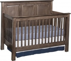 JR CRIB SHAKER PANEL STYLE NON TOXIC USA