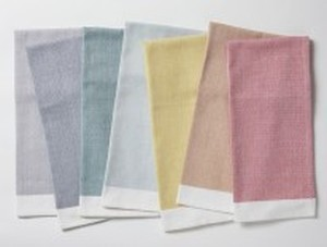 CHAMBRAY KITCHEN TOWELS GOTS ORGANIC COTTON