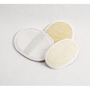 BODY SCRUB LOOFA PADS Natural