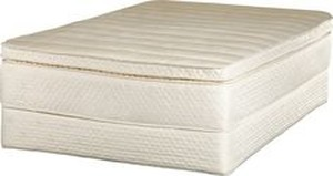 MATTRESS NATURAL LATEX KNIT OUTER TWIN, FULL