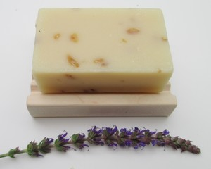 OATMEAL LAVENDER SOAP SET