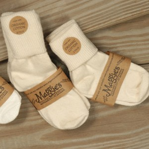 MAGGIES NATURAL COLOR Anket Baby Socks
